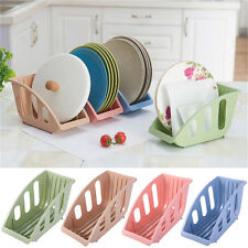 Plastic Dish Rack Cup Plate Drying Cutlery Tray Holder Drainer Utensil Dryer
