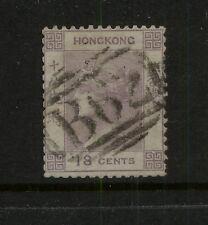 Hong   Kong   4  used    18 cent catalog  $67.50            KEL0612