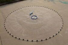Wurfnetz Masche- 10mm- Ring Köder Karpfen Forellen Hecht Fischernetz  Netz
