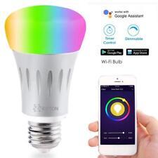 Smart LED Light Bulb, Wi-Fi Light Bulb, Multicolored LED Light Bulbs