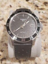 Tissot V8 SwissMatic Black Dial Leather Band Men's Watch [T106.407.16.051.00]