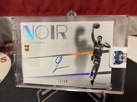 2019-20 Noir Basketball Shadow Signatures Rui Hachimura #75/99