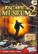 Escape the Museum 2 by Gogii Games BRAND NEW (PC CD-ROM, Windows XP, MAC)