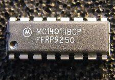10x mc14014bcp 8-bit STATIC SHIFT REGISTER, Motorola
