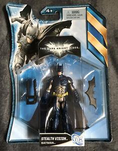 Batman - The Dark Knight Rises - Stealth Vision Batman - Action Figure - NIB!