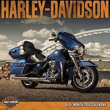 HARLEY-DAVIDSON Motor Cycles - 2018 Mini-Calendar
