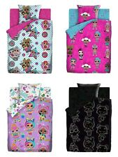 Bed linen 100% cotton Cartoon characters LOL Surprise Glows in the dark