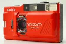 [Exc+5] Konica TOMATO POP-10 RED Point & Shoot Camera From Japan