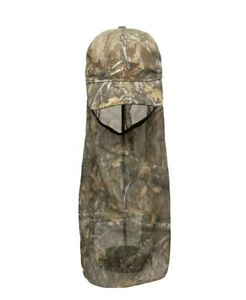 Outdoor Camo Cap Hat with Neck Face Mask Adult Hunting Washable Breathable