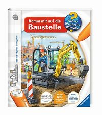 "Ravensburger TIPTOI 00633 - Book "" Komm with on the Construction Site "", NEW"