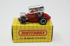 Vintage 1989 Matchbox MB34 Sprint Racer Red With Box 1/64