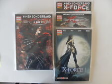 Marvel - Panini - X-Force - X-Man Sonderband - Nr. 1-7 + 3x Variant - Z. 0-1/1