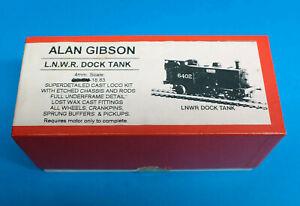 Kit Built LNWR LMS BR Dock Bissel Tank 0-4-2ST Alan Gibson Etched brass 18.83mm