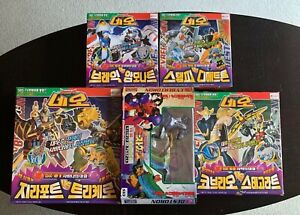 "Beast Wars Neo ""vs"" Collection all MISB figures RARE Takara Transformers"