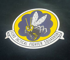 VINTAGE HORNETS 43RD TACTICAL FIGHTER SQUADRON DECAL