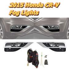 For 2015-2016 Honda CR-V Driving Fog Lights Bumper Lamps Kit NEW- FL7028