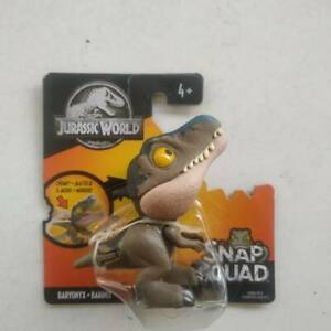 Jurassic World Snap Squad Baryonyx Mattel New