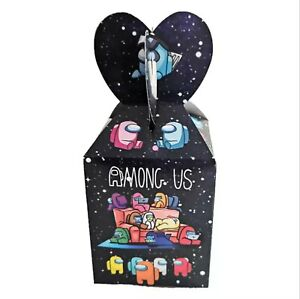 Kids Gaming Cartoon Birthday Candy Sweet boxes Party Supplies