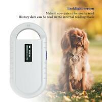 Handheld Animale Microchip RFID Riconoscimento Scanner Lettore Per Cane Gatto