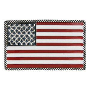 SALE! Montana Silversmiths Stars & Stripes Attitude Belt Buckle A275