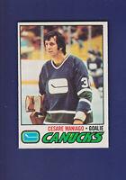 Cesare Maniago 1977-78 TOPPS Hockey #23 (EXMT) Vancouver Canucks