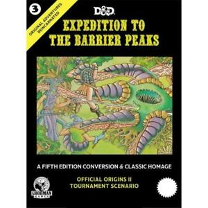 D&D RPG 5th Ed - Original Adventures Reincarnated 3 - Expedition to the Barri...