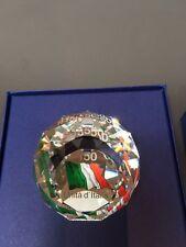 Swarovski Fermacarte in Cristallo 150° Unità Italia - 1134118 -Paperweight  NEW
