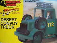 K1800023 DESERT CONVOY TRUCK MIB MINT IN BOX INDIANA JONES 100% COMPLETE 1982
