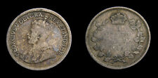 Canada 1915 King George V 5 Cents Key Date Toned VG-8