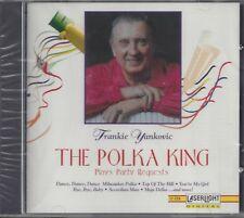 """FRANKIE YANKOVIC  """"The Polka King""""  NEW SEALED POLKA CD   1 of last 5 left !!!"""