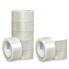 "(9) ULINE S-423 2"" x 110yds 2mil PACKING / SHIPPING TAPE ROLLS NINE TOTAL"