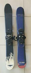 Canon Skiboards/Snowblades - Pair M7 Proline & Pair H Series CS with bindings
