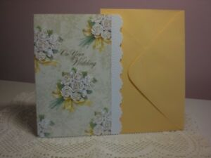 Carol's Rose Garden - Wedding - A Beautiful White Bouquets of Roses on cover