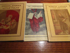 Vtg Ten Commandments/Mission Stories/MARTIN Luther Story & Picture ALBERT MILLER