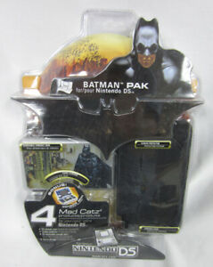 MAD CATZ BATMAN PAK FOR NINTENDO DS NEW IN PACKAGE POUCH GAMES CASE STORAGE