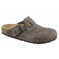 Birkenstock Boston Wool Felt Unisex Shoes Clogs Slippers Slides Cacoa EU 41 / UK 7.5
