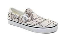 Vans X Harry Potter Slip On Shoes Marauders Map Ivory White Classic Era Sk8 Cab