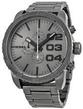 Diesel DZ4215 Advanced Grey Dial Gunmetal Ion Plated Chronograph Men's Watch