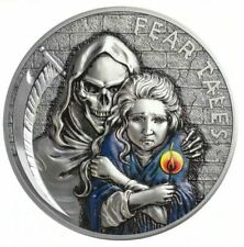 2020 Palau $10 Fear Tales Little Match Girl 2 oz 999 Silver Coin - 500 Mintage