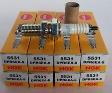 DPR6EA-9 NGK Standard Plug Spark Plugs 5531 8 Pack