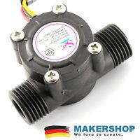 YF-S201 Wasserfluss Durchfluss Sensor Schaufelrad Wasser Hall Arduino Raspber...