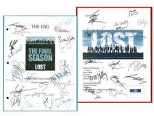 2 Lost Scripts Signed Pilot & Final The End Rpt Matthew Fox Ian Somerhalder