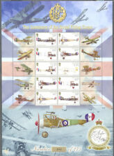 Isle of Man-Royal Flying Corps Aviation mnh sheet-242(Only 275 issued)