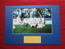 WIMBLEDON - LEEDS VINNIE JONES GENUINE HAND SIGNED A3 MOUNTED PHOTO DISPLAY- COA