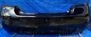 2011 - 2013 INFINITI M35h M37 M56 2014 Q70 REAR BUMPER COVER BLACK # MR6-BKS454