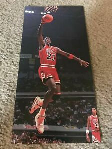 Vintage 1989 NIKE AIR JORDAN IV 4 SHOES Poster Print Ad 1980s MICHAEL JORDAN
