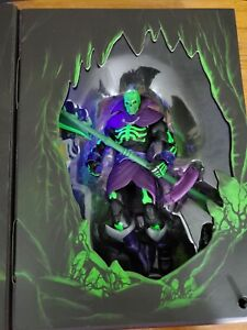 SDCC 2021 MASTERS OF THE UNIVERSE MASTERVERSE REVELATION SCARE GLOW In Hand