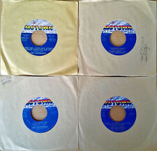 SUPREMES - (4) MOTOWN 45 LOT - WHEN LOVELIGHT, HANGIN' ON, REFLECTIONS, LOVE IS.