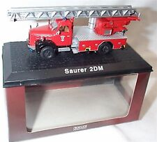 Atlas Fire truck Collection Saurer 2DM approx 1-72 Scale New in case boxed