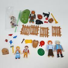(Incomplete, No Box) Playmobil 4212 Hansel & Gretel Fairy Tale Playset